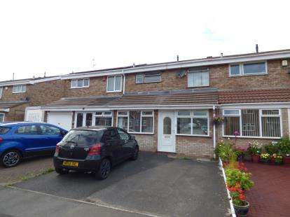 3 Bedrooms Terraced House for sale in Hamilton Drive, Tividale, Oldbury, West Midlands