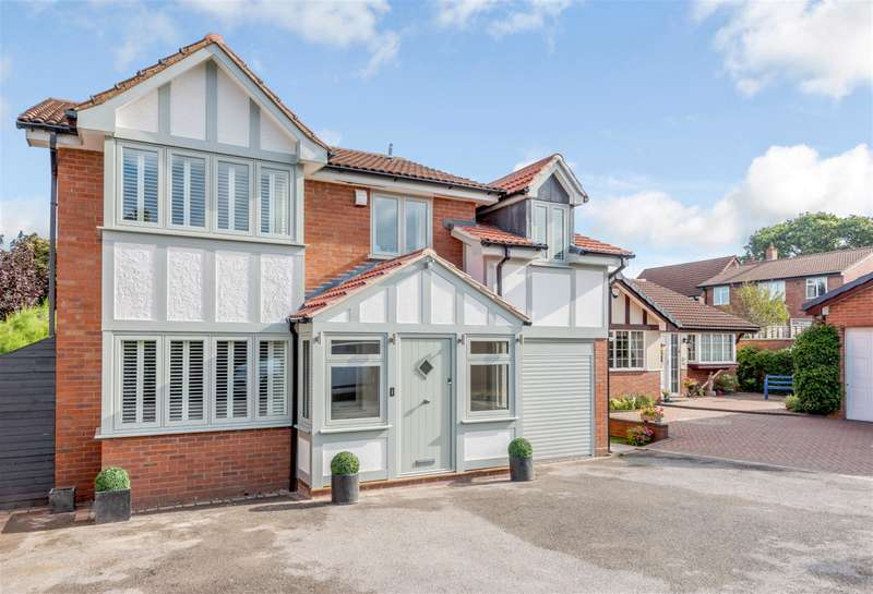 5 Bedrooms Detached House for sale in Saxton Drive, Four Oaks, Sutton Coldfield, B74 4XZ