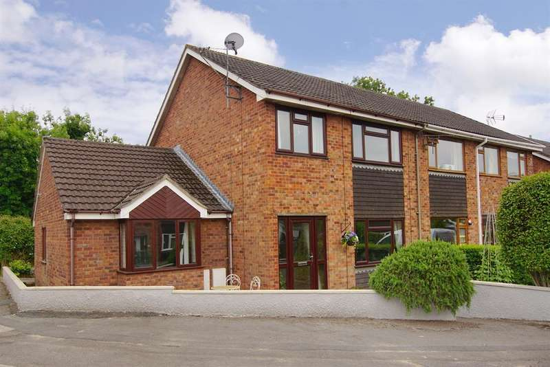 4 Bedrooms Semi Detached House for sale in Weavers Close, Kingswood, Gloucestershire, GL12 8SE