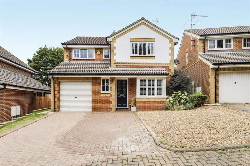 4 Bedrooms Detached House for sale in Rachaels Lake View, Warfield, Bracknell, Berkshire, RG42