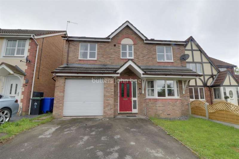 4 Bedrooms Detached House for sale in Hampshire Crescent, Lightwood