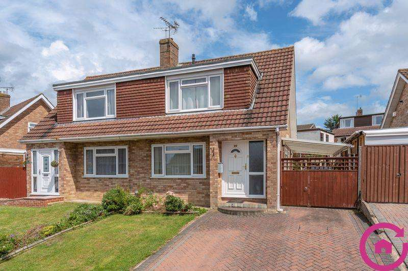 3 Bedrooms Semi Detached House for sale in Sandford Way, Tuffley, Gloucester