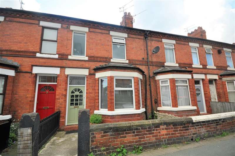 3 Bedrooms Terraced House for sale in Ermine Road, Hoole, Chester