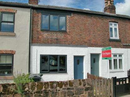 2 Bedrooms Terraced House for sale in Hadlow Terrace, Hadlow Road, Willaston, CH64