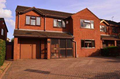 4 Bedrooms Detached House for sale in Bower Lane, Etching Hill, Rugeley, Staffordshire