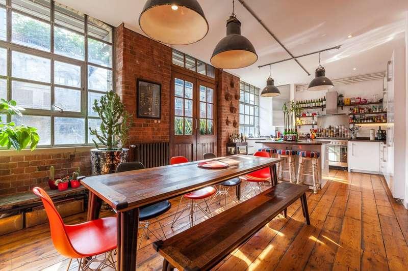4 Bedrooms Flat for rent in Shepherdess Walk, Hoxton, N1