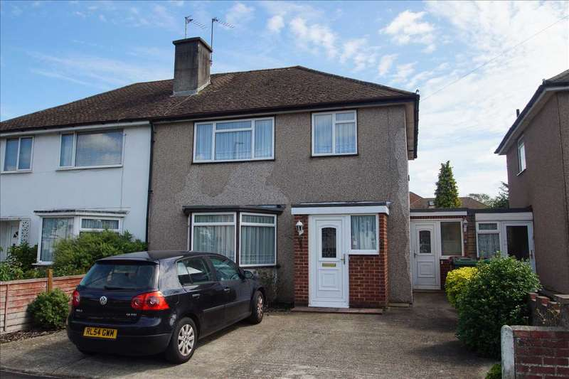 3 Bedrooms Semi Detached House for sale in Oldway Lane, Cippenham