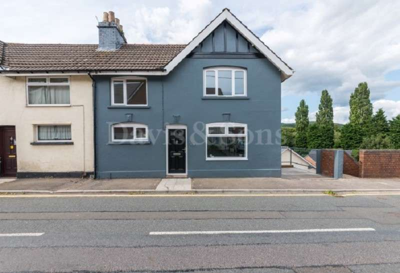 3 Bedrooms Semi Detached House for sale in Tregwillym Road, Rogerstone, Newport. NP10 9EQ