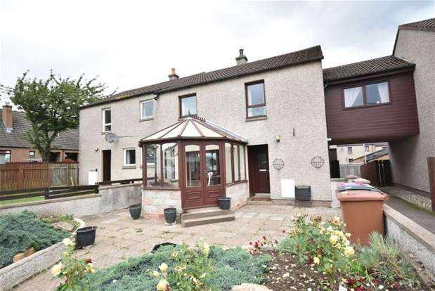 4 Bedrooms Terraced House for sale in Nelson Terrace, Keith