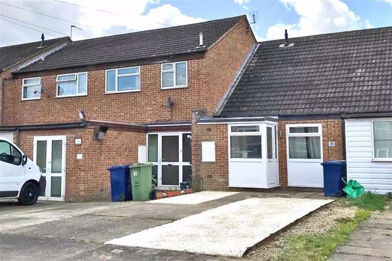 1 Bedroom Terraced House for sale in Cromers Close, Northway, Tewkesbury, Gloucestershire