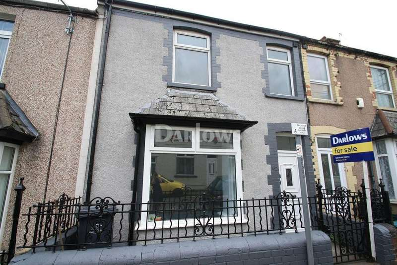 3 Bedrooms Terraced House for sale in Alexandra Street, Ebbw Vale, Gwent, NP23 6JF