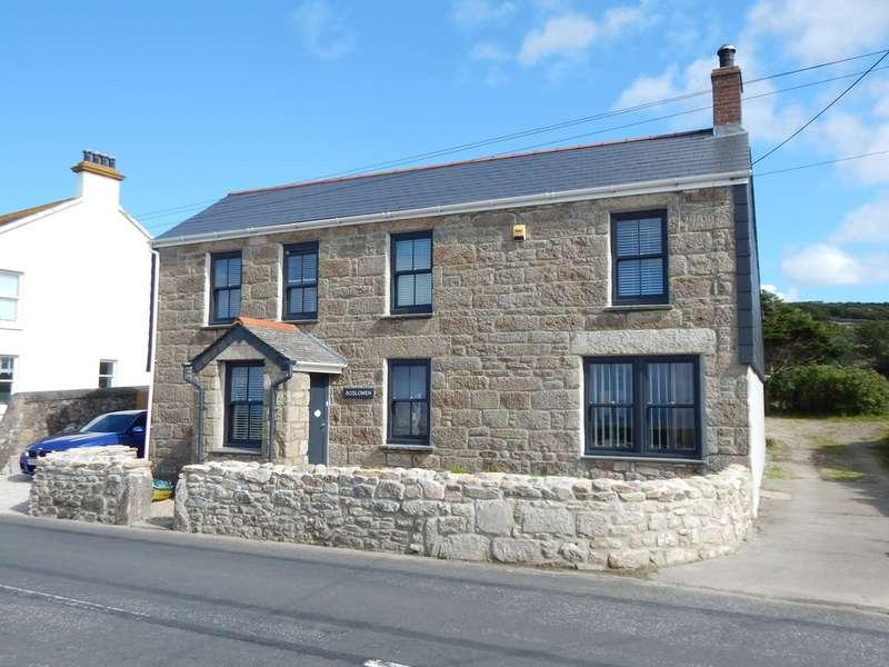4 Bedrooms Property for sale in Boslowen Pendeen Penzance Cornwall TR19 7SQ