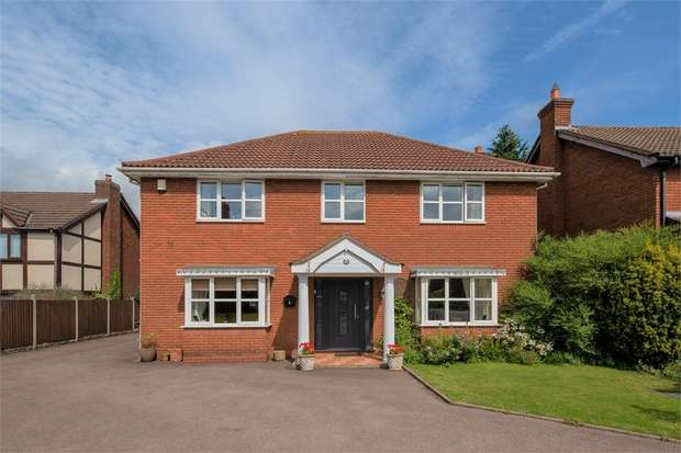 4 Bedrooms Detached House for sale in Deepdale, Wilnecote, Tamworth, Staffordshire