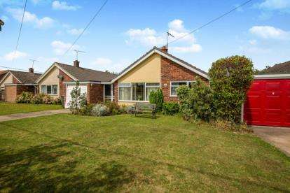 3 Bedrooms Bungalow for sale in Bacton, Stowmarket, Suffolk