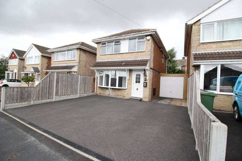 3 Bedrooms Detached House for sale in Teall Court, Ossett, West Yorkshire, WF5