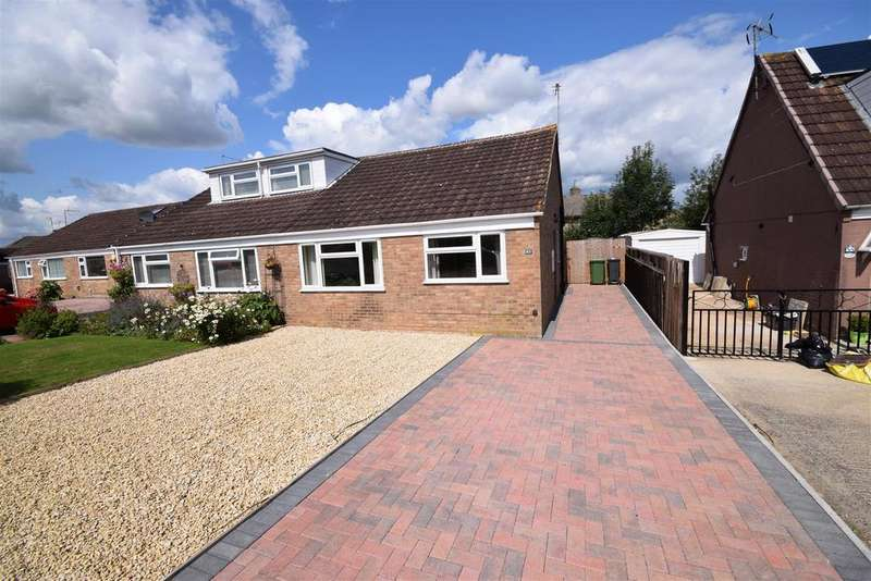 2 Bedrooms Semi Detached Bungalow for sale in Dozule Close, Leonard Stanley, Stonehouse