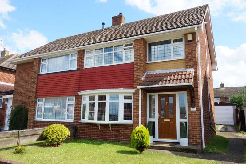 3 Bedrooms Semi Detached House for sale in Clipper Crescent, Gravesend, Kent, DA12
