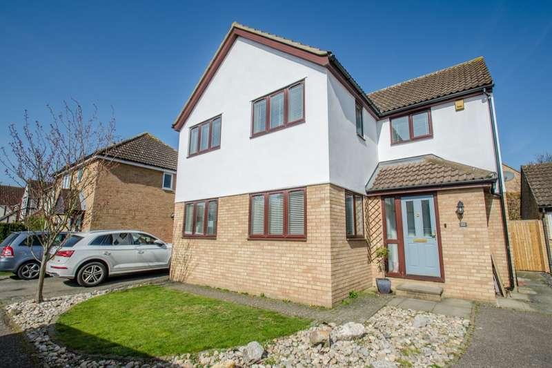 5 Bedrooms Detached House for sale in The Hedgerows, Stevenage, Hertfordshire, SG2