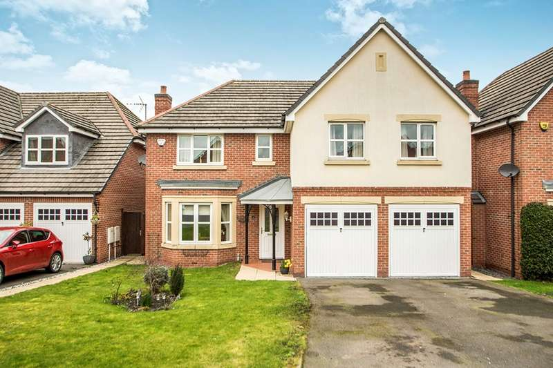 5 Bedrooms Detached House for sale in Hedingham Close, Ilkeston, Derbyshire, DE7