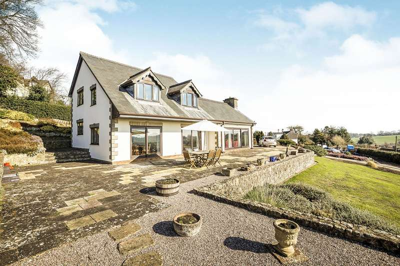 4 Bedrooms Detached House for sale in Little London Lane, Trefonen, Oswestry, Shropshire, SY10