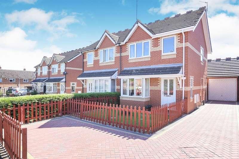 3 Bedrooms Semi Detached House for sale in Wesley Road, Codsall, Wolverhampton, WV8