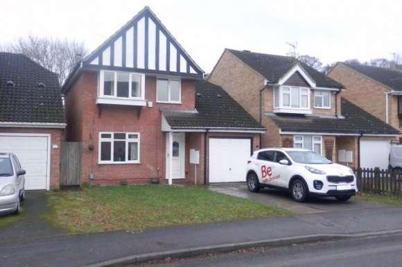 4 Bedrooms Detached House for rent in Halleys Way, Houghton Regis Dunstable