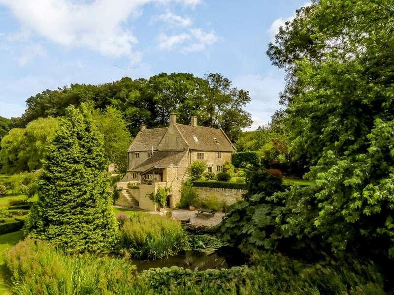 5 Bedrooms Detached House for sale in Lypiatt, Stroud, Gloucestershire, GL6