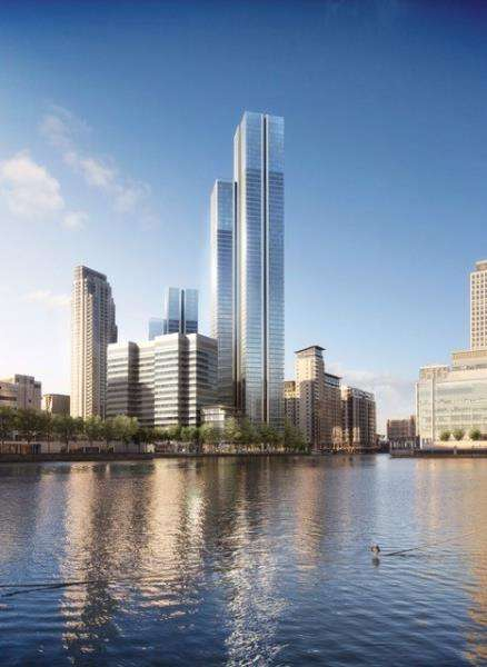 3 Bedrooms Flat for sale in South Quay Plaza, London, E14