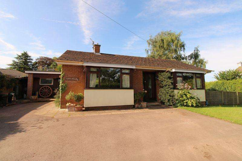 3 Bedrooms Bungalow for sale in Hereford Road, Monmouth