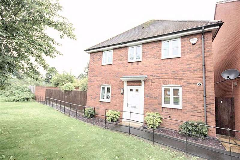 3 Bedrooms Detached House for sale in Furrowfield Park, Newtown, Tewkesbury, Gloucestershire
