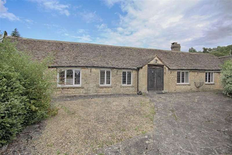 3 Bedrooms Semi Detached Bungalow for sale in Old Road, Southam, Cheltenham, GL52