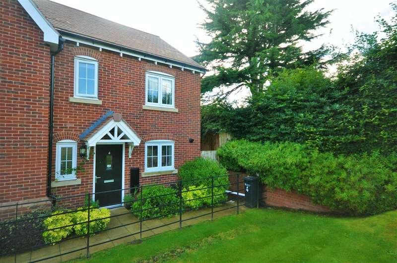 3 Bedrooms Semi Detached House for sale in Lynchet Road, Hampton Lea, Malpas