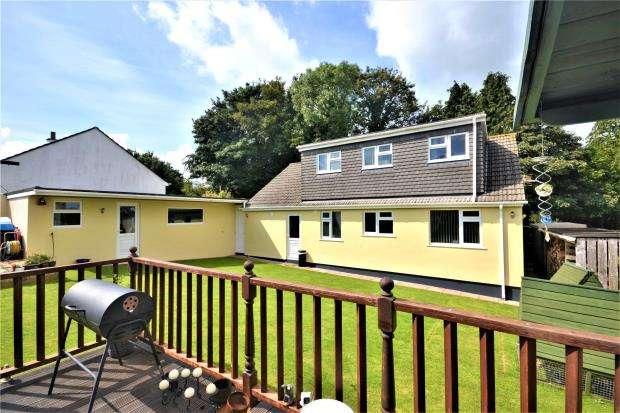 4 Bedrooms Detached Bungalow for sale in Pengelly, Callington, Cornwall