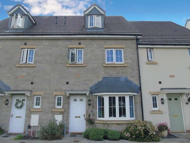 4 Bedrooms Terraced House for sale in Alexon Way, Hawthorn, PONTYPRIDD