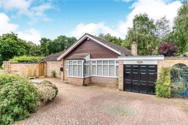 3 Bedrooms Detached Bungalow for sale in Mosspaul Close, Leamington Spa, Warwickshire