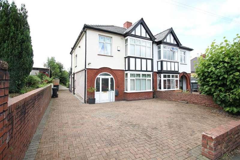 3 Bedrooms Semi Detached House for sale in St. Julians Road, Newport