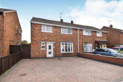 4 Bedrooms Semi Detached House for sale in Rolleston Road, Wigston, Leicester, Leicestershire