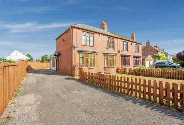 3 Bedrooms Semi Detached House for sale in High Lane, Maltby, Middlesbrough, North Yorkshire