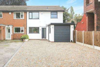 3 Bedrooms Semi Detached House for sale in The Crescent, Davenport, Stockport, Cheshire