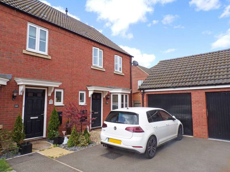 3 Bedrooms Semi Detached House for sale in Fletton End, Calvert