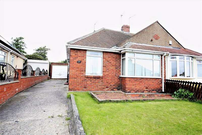 2 Bedrooms Semi Detached Bungalow for sale in Irene Avenue, Grangetown, Sunderland, SR2