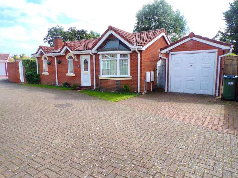 2 Bedrooms Bungalow for sale in ARBOR COURT, WEST BROMWICH, WEST MIDLANDS, B71 4DY