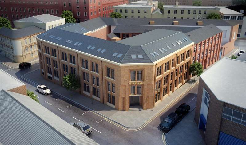 2 Bedrooms Apartment Flat for sale in Hampton Street, Birmingham
