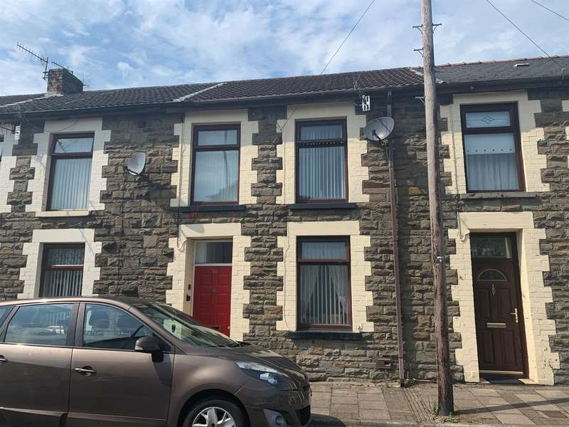 3 Bedrooms Terraced House for sale in Treasure Street, Treorchy