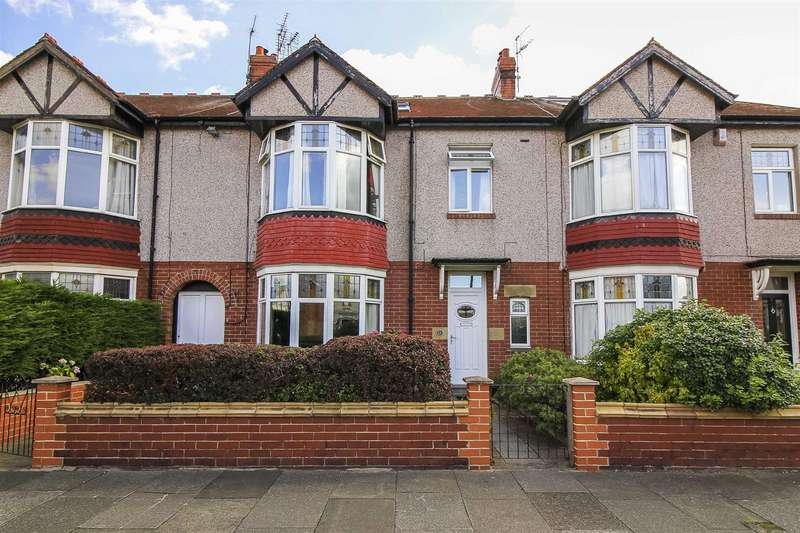 5 Bedrooms Terraced House for sale in Claremont Gardens, Whitley Bay