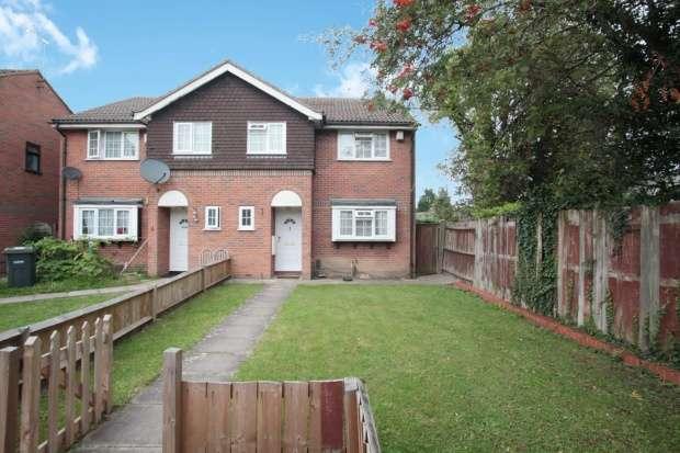 4 Bedrooms Semi Detached House for sale in Ellerdine Close, Luton, Bedfordshire, LU3 1TX