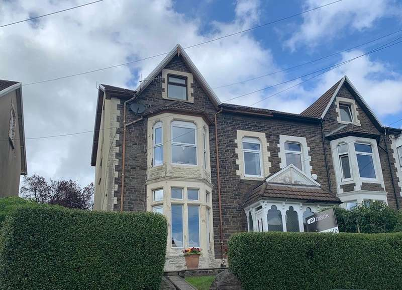 6 Bedrooms Semi Detached House for sale in Tyfica Road, Pontypridd