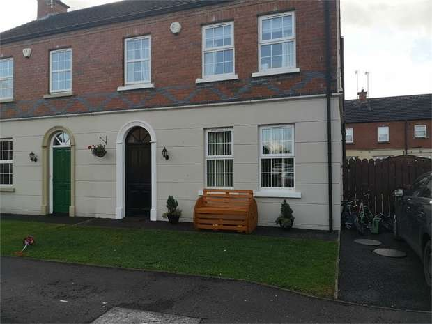 3 Bedrooms Semi Detached House for sale in Millrace Drive, Moneymore, Magherafelt, County Londonderry