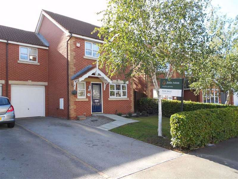 3 Bedrooms Link Detached House for sale in Stewart Street, Crewe, Cheshire