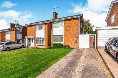 3 Bedrooms Semi Detached House for sale in Longwood Rise, Willenhall, West Midlands